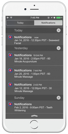 iphone appointment reminders app