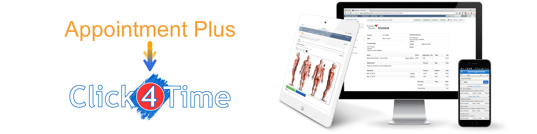 Looking for alternatives to Appointment Plus, Click4Time is the easiest solution to convert too