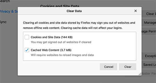 firefox-select-data-to-clear