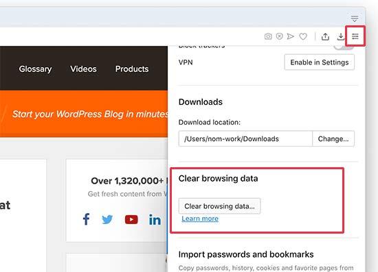 opera-browsing-data