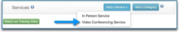 add service menu